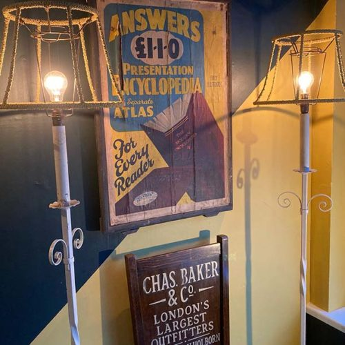 Arts and Crafts Standard Lamps