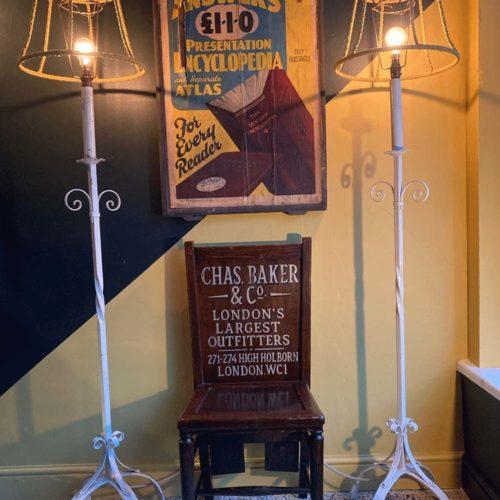 Charles Baker & Co advertising chair